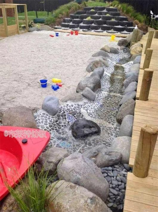 超实用!打造沙池的6个诀窍(附国外幼儿园超美沙区图)图片